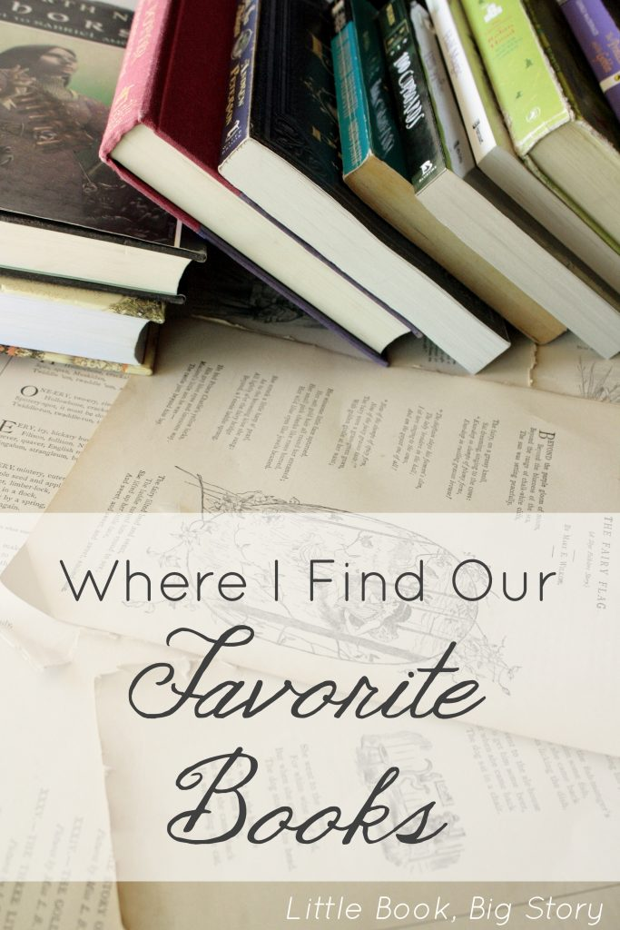 Where I Find Our Favorite Books: A list of booklists and resources for finding beautiful books for pretty cheap | Little Book, Big Story