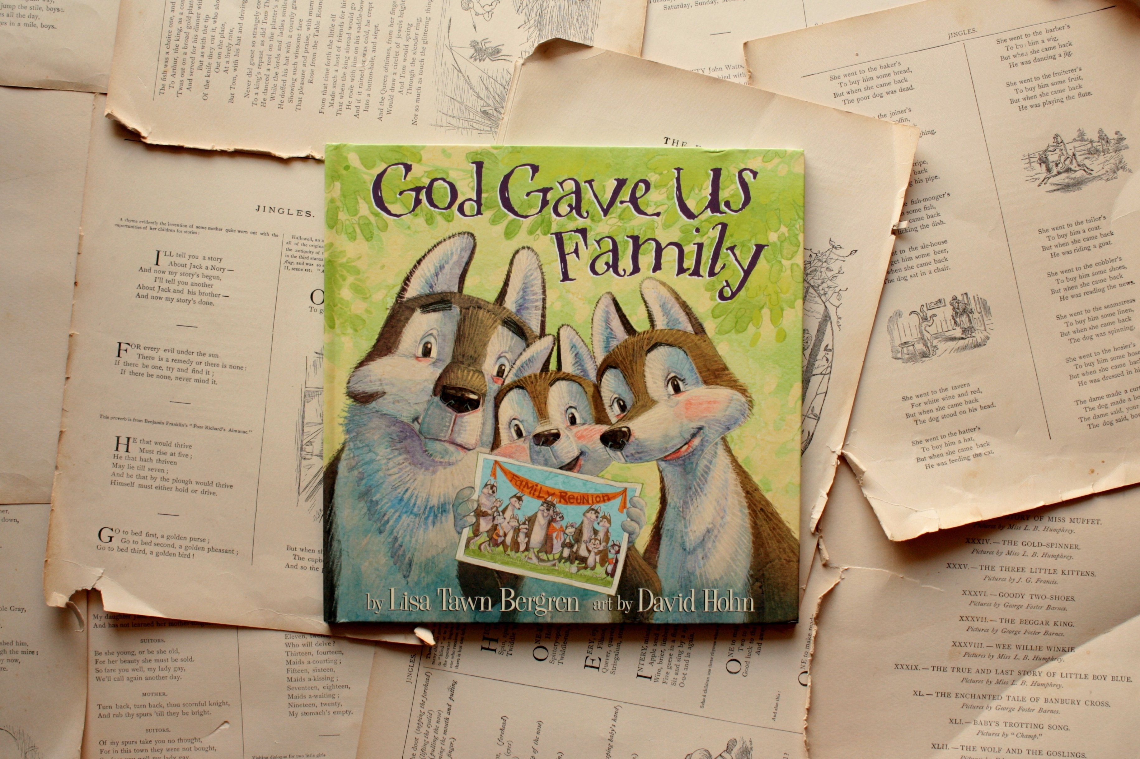 God Gave Us Family | Lisa Tawn Bergren