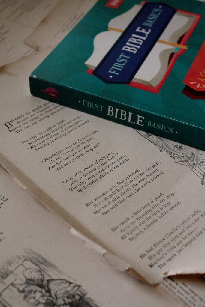 First Bible Basics, by Danielle Hitchen (review) | Little Book, Big Story