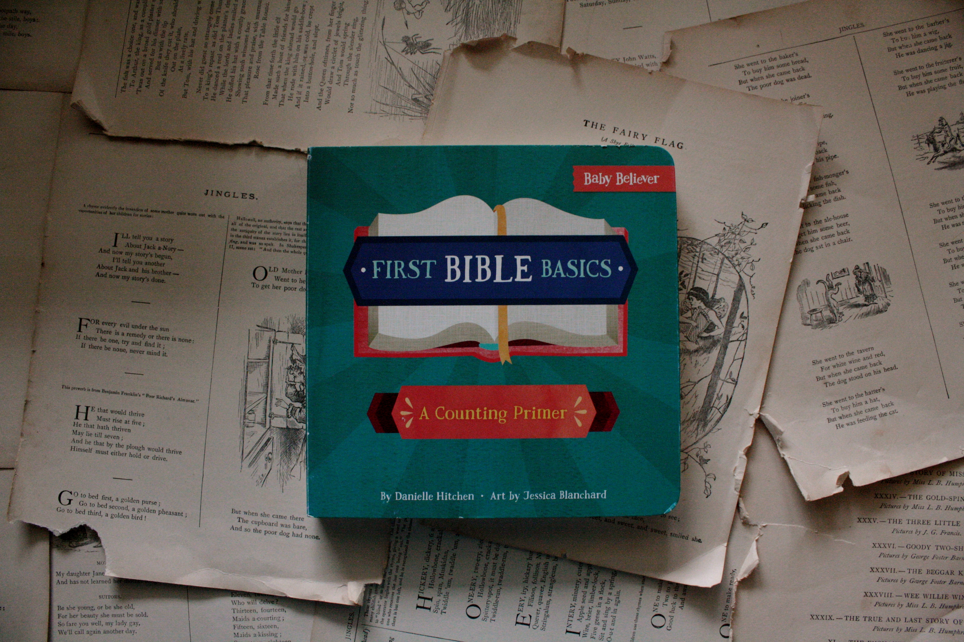 First Bible Basics | Danielle Hitchen