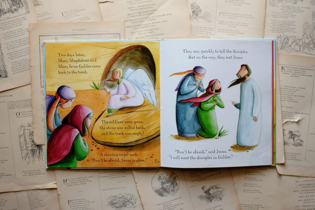 The Easter Story, by Katherine Sully (review) | Little Book, Big Story