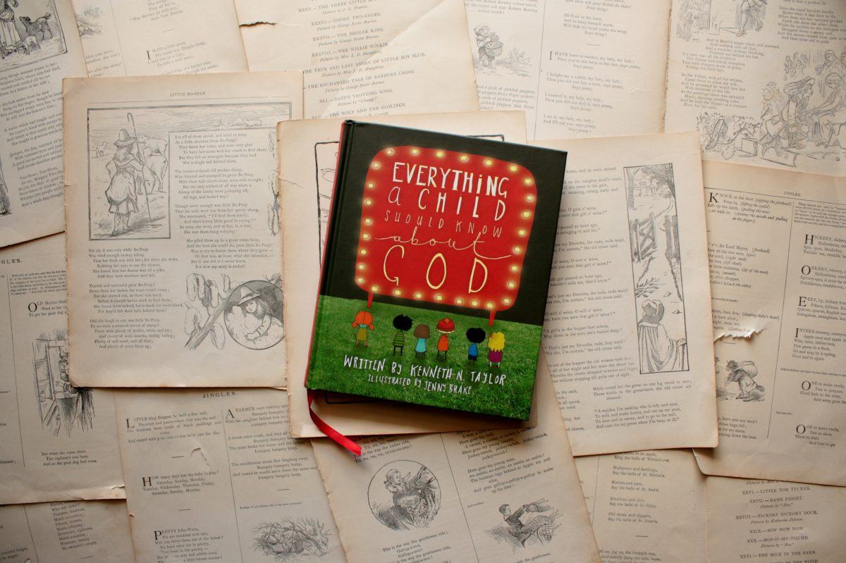 Everything a Child Should Know About God, by Kenneth N. Taylor (Review)   Little Book, Big Story
