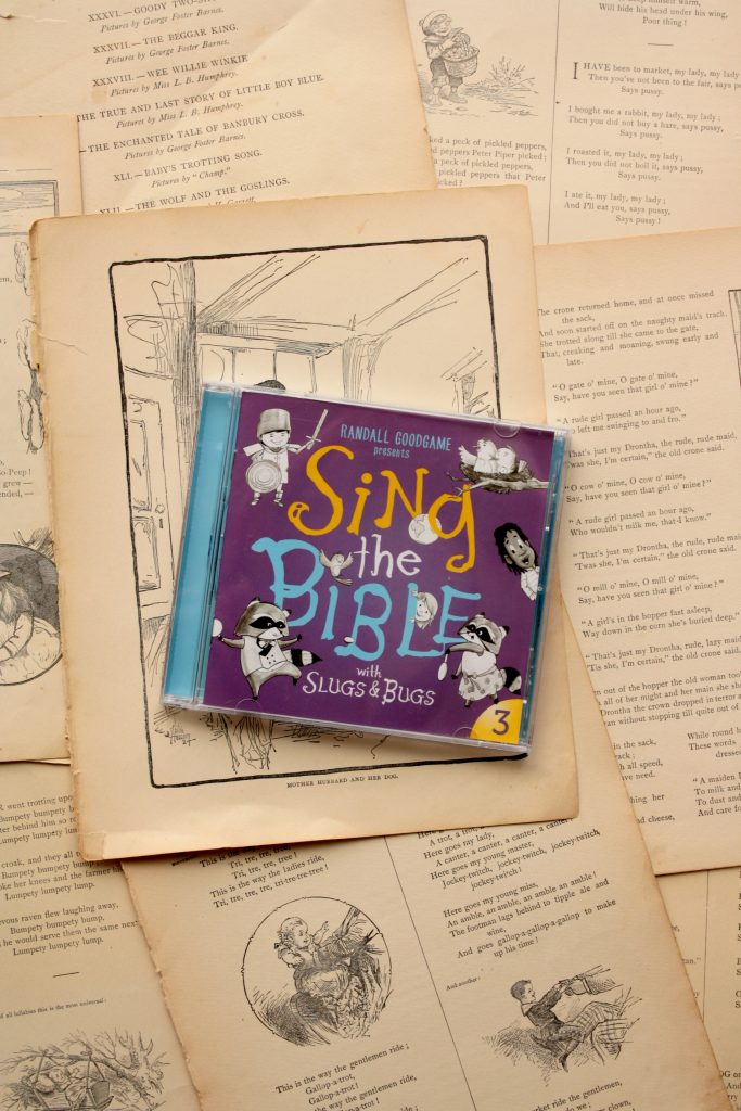 Sing the Bible, Vol. 3, by Randall Goodgame and Slugs & Bugs | Little Book, Big Story
