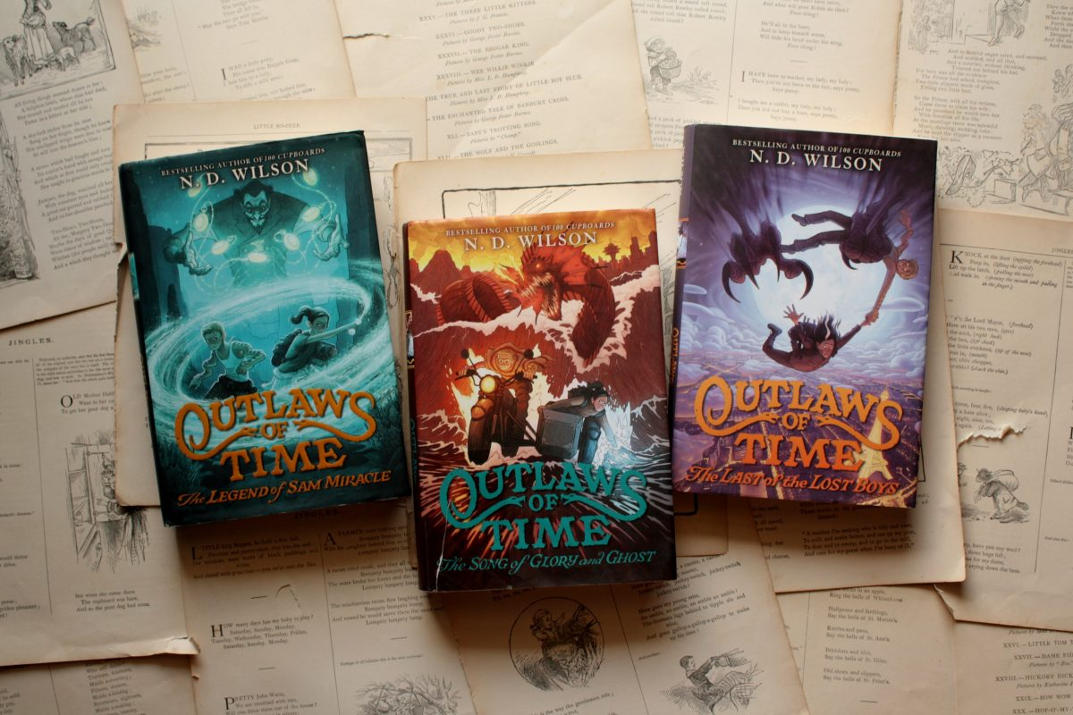 The Outlaws of Time (series), by N.D. Wilson | Little Book, Big Story