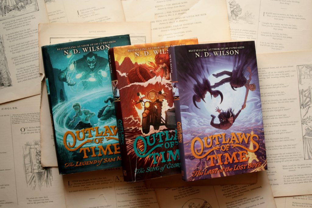 The Outlaws of Time (series), by N. D. Wilson | Little Book, Big Story