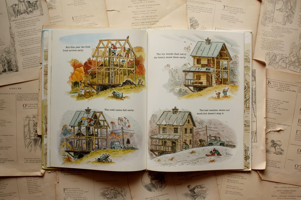 Building Our House, by Jonathan Bean | Little Book, Big Story