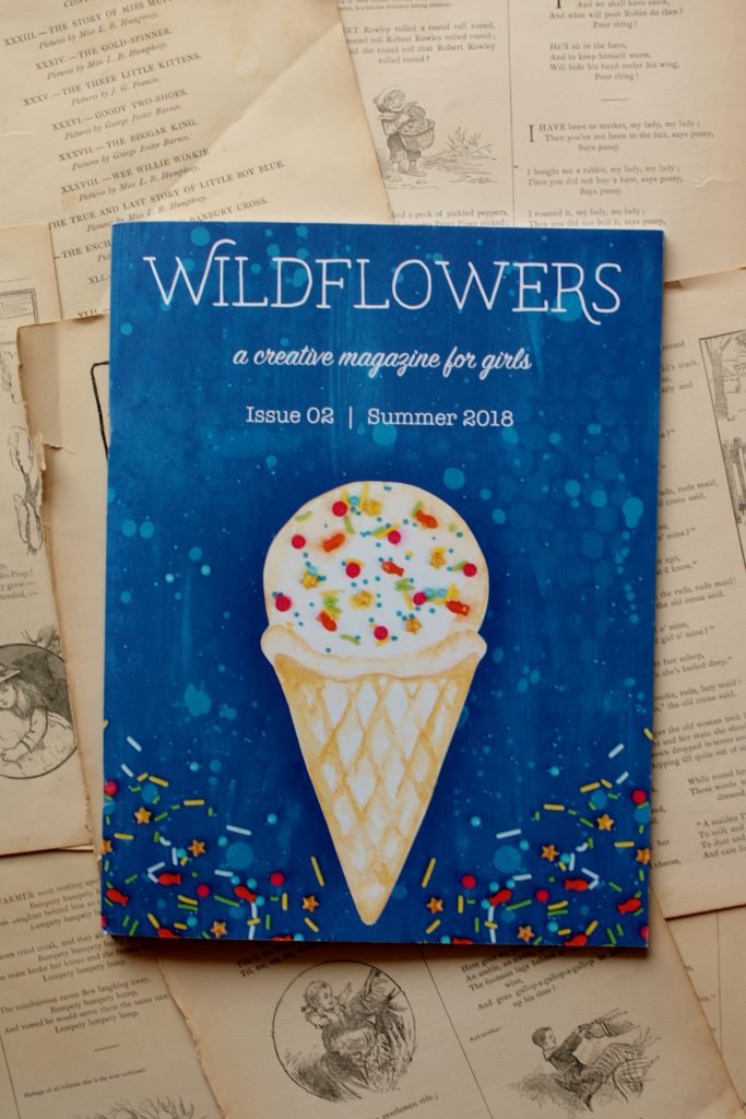 Wildflowers Magazine, Issue 02: Summer | Little Book, Big Story
