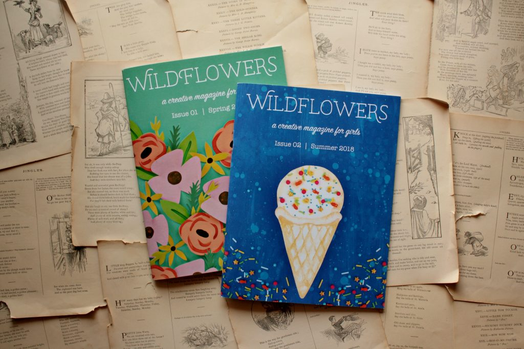 Wildflowers Magazine | Little Book, Big Story