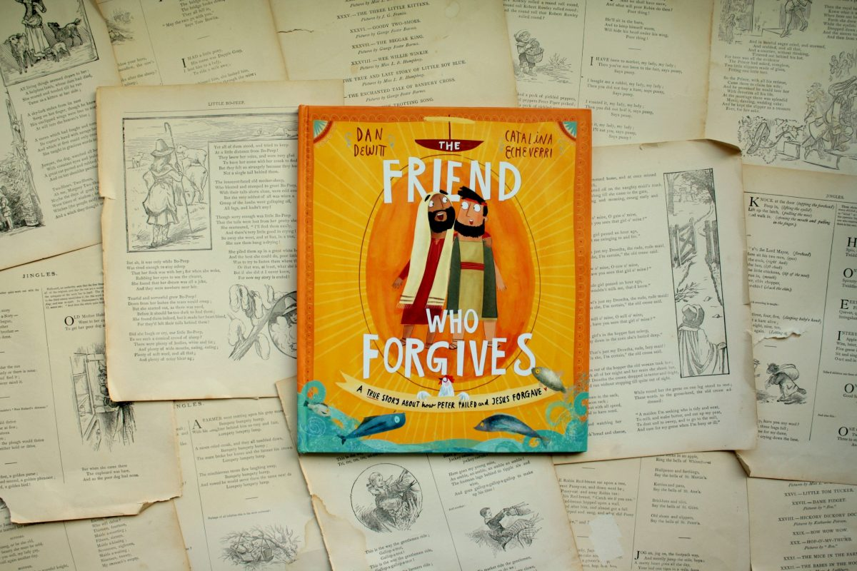 The Friend Who Forgives, by Daniel DeWitt | Little Book, Big Story
