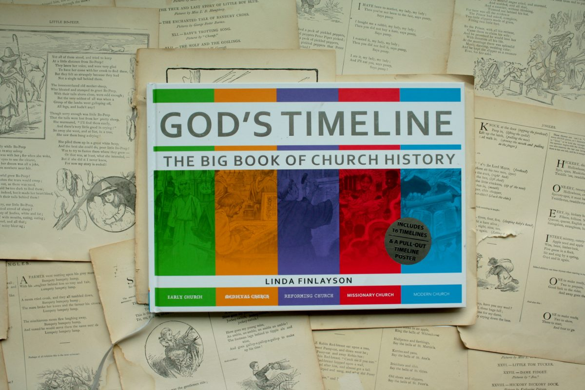 God's Timeline: A Big Book of Church History, by Linda Finlayson | Little Book, Big Story