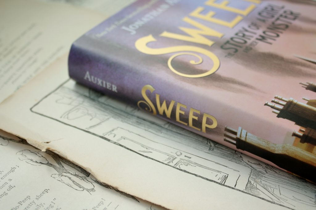 Sweep,. by Jonathan Auxier | Little Book, Big Story
