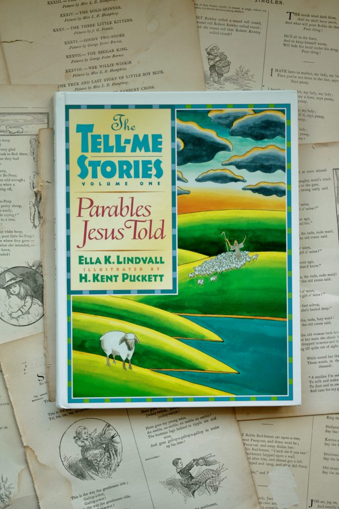 The Tell-Me Stories, by Ella K. Lindvall | Little Book, Big Story