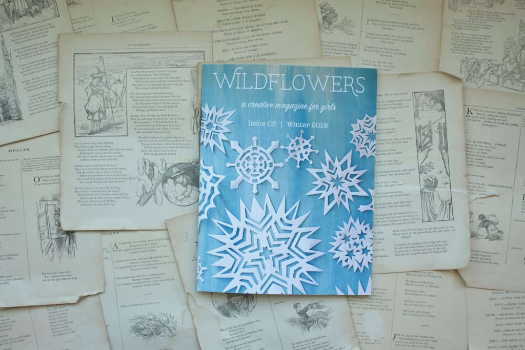Wildflowers Magazine, Winter Issue | Little Book, Big Story