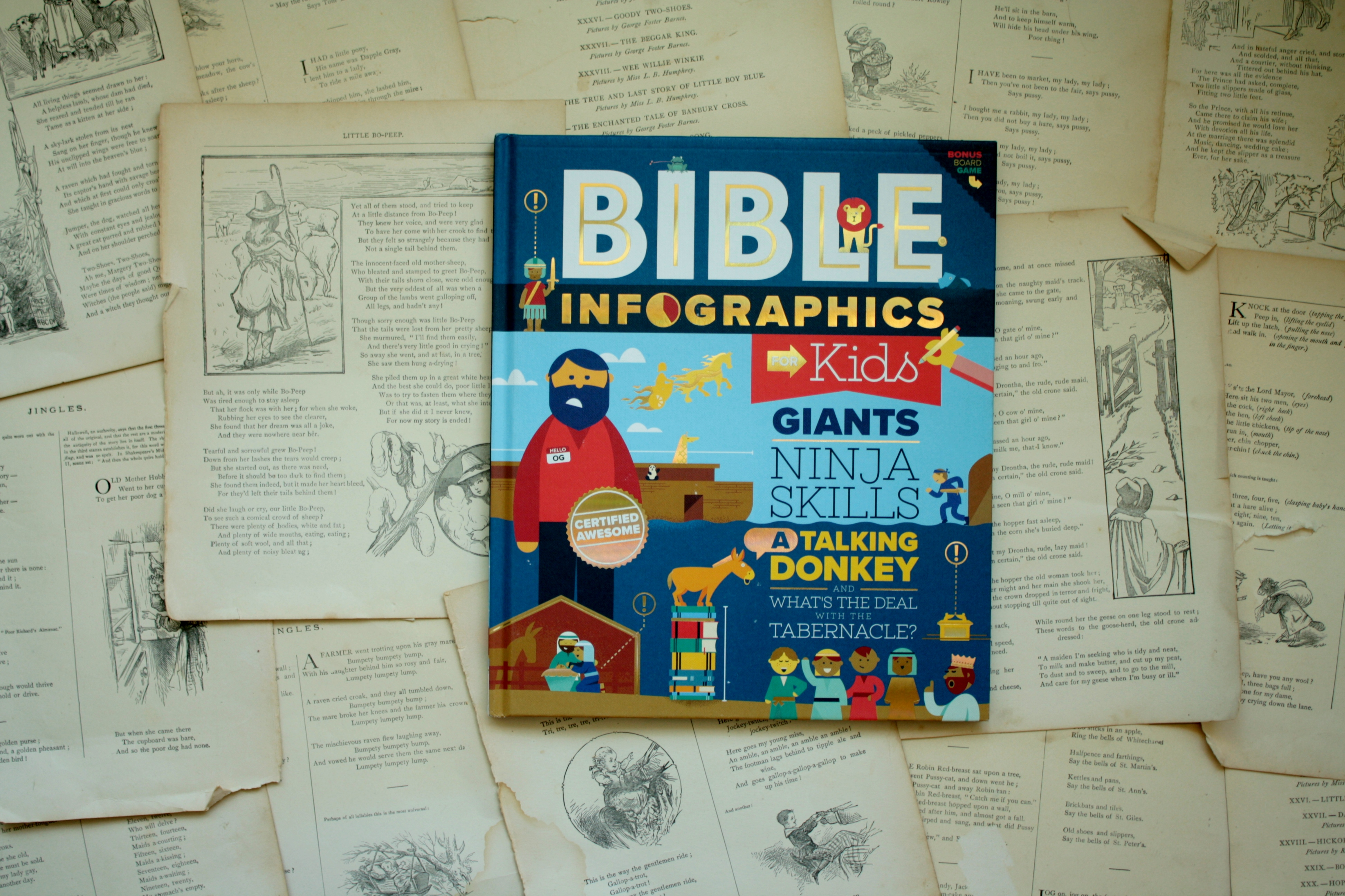 Bible Infographics for Kids