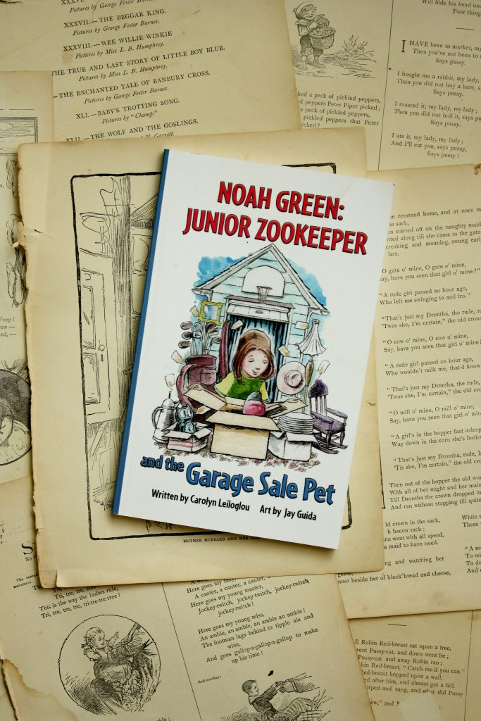 Noah Green: Junior Zookeeper, by Carolyn Leiloglou | Little Book, Big Story