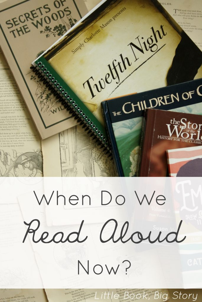 When Do We Find Time to Read Aloud Now? | Little Book, Big Story