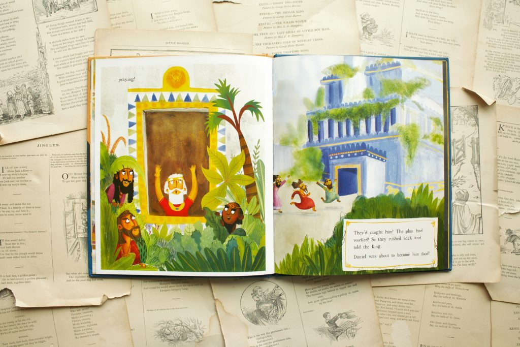 Jesus and the Lion's Den, by Alison Mitchell | Little Book, Big Story
