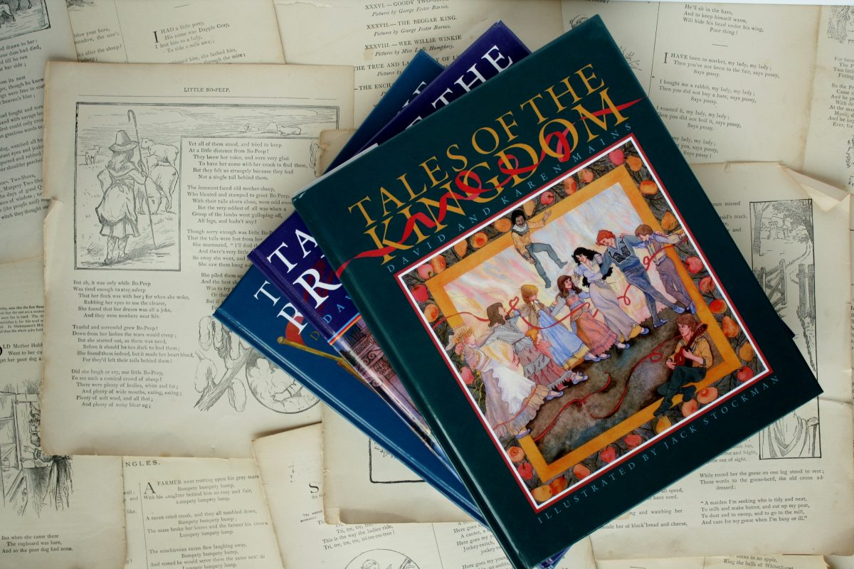 Tales of the Kingdom, by David & Karen Mains   Little Book, Big Story