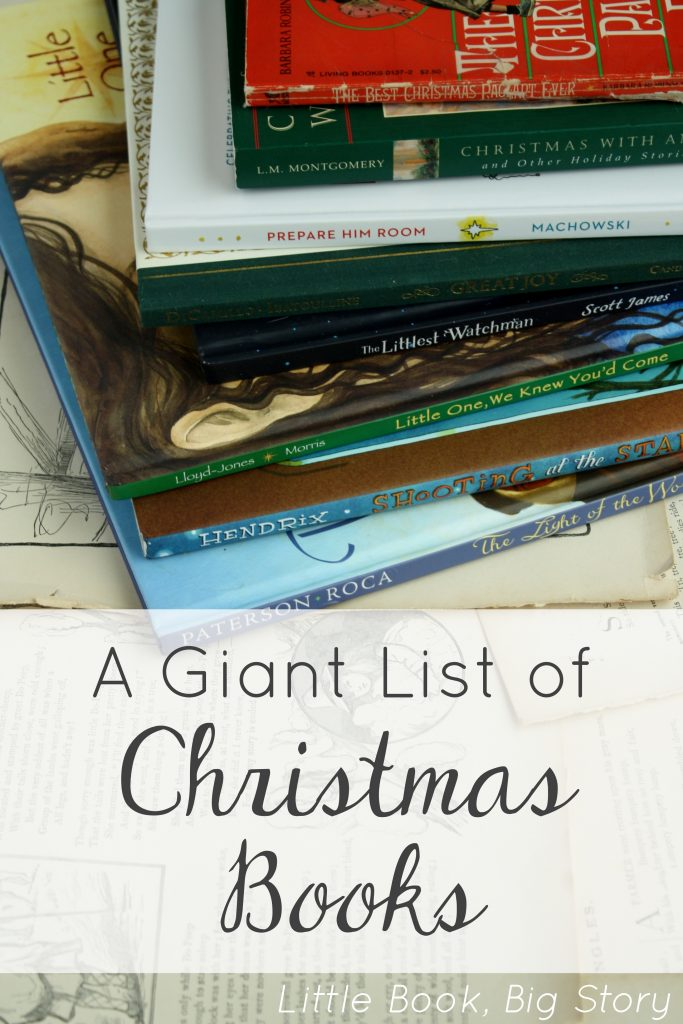 A Giant List of Favorite Christmas Books | Little Book, Big Story
