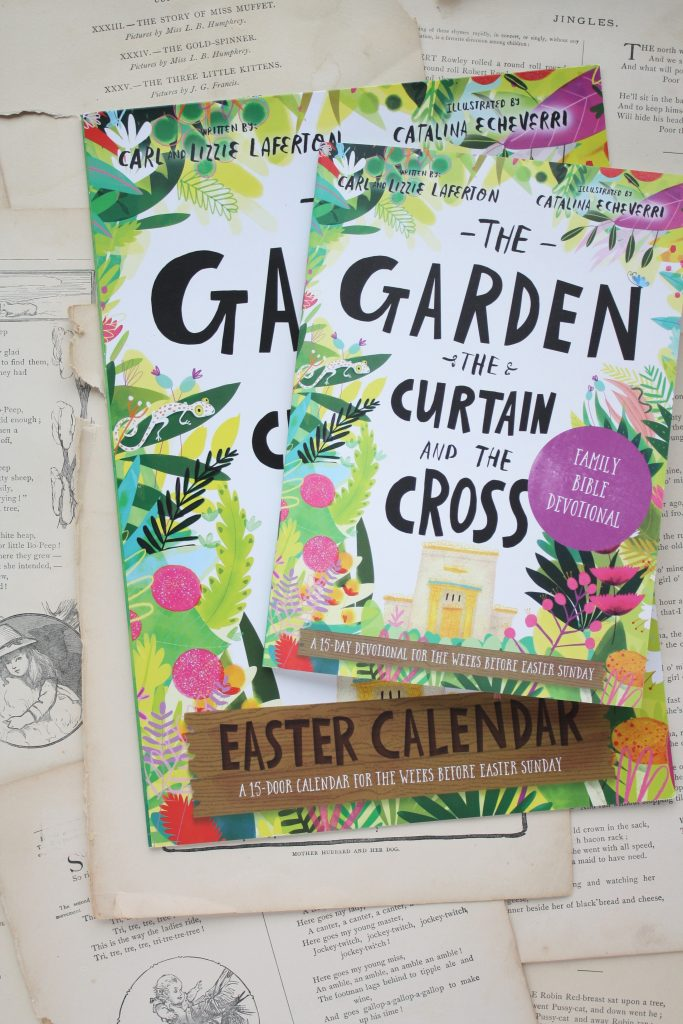 The Garden, the Curtain and the Cross Easter Calendar and Devotional | Little Book, Big Story