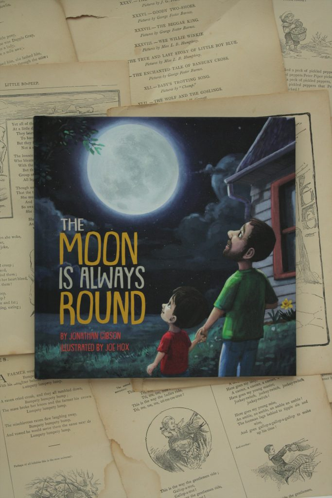The Moon is Always Round, by Jonathan Gibson | Little Book, Big Story