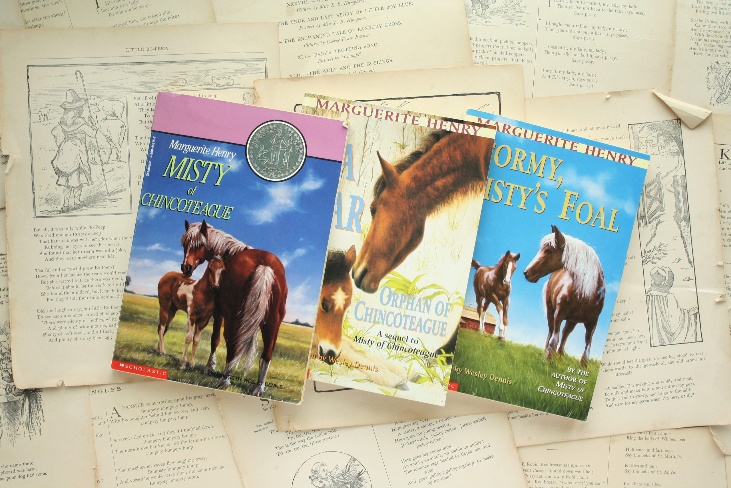 Misty of Chincoteague (Series) | Marguerite Henry