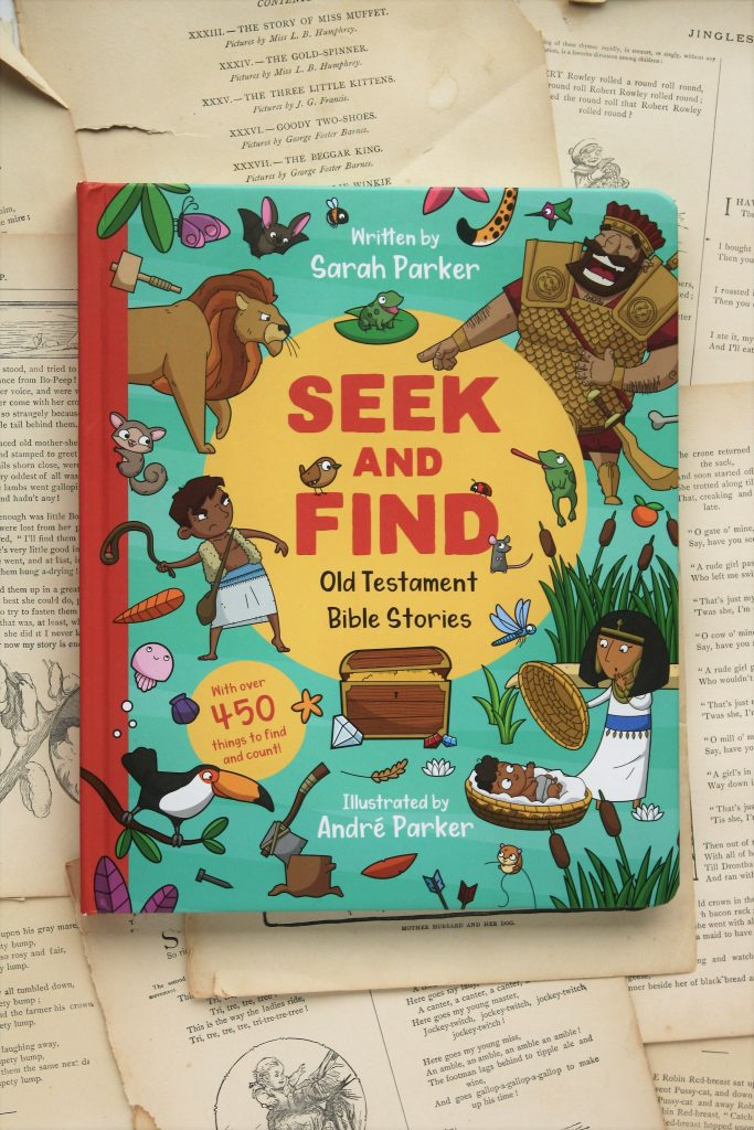 Seek and Find: Old Testament Bible Stories | Little Book, Big Story