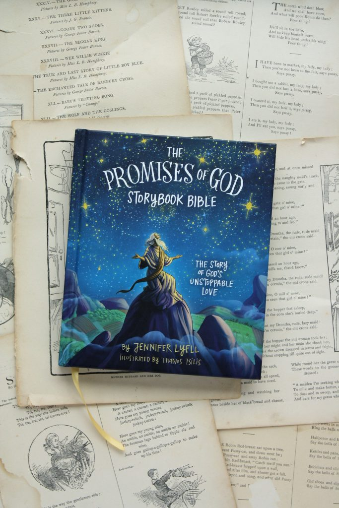 The Promises of God Storybook Bible, by Jennifer Lyell | Little Book, Big Story