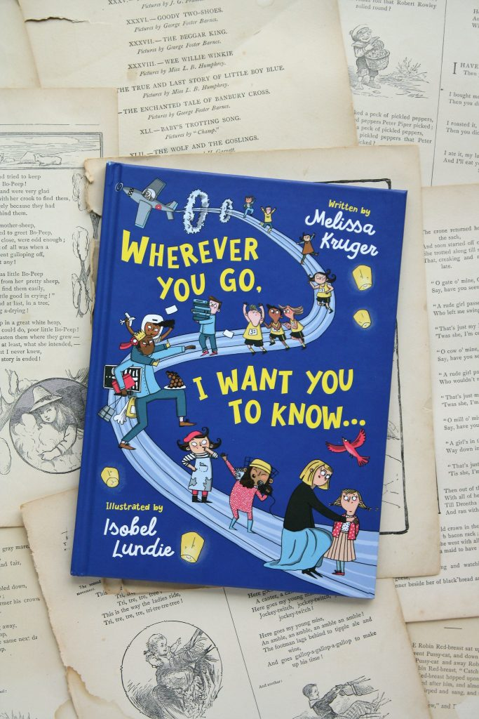 Wherever You Go, I Want You to Know, by Melissa Kruger | Little Book, Big Story