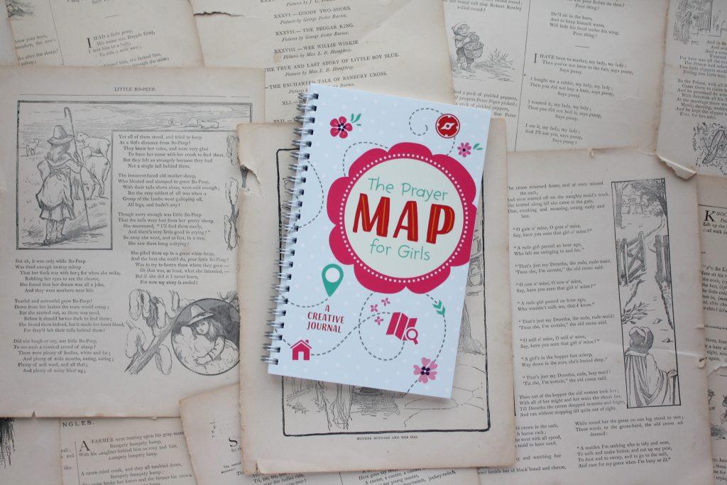 The Prayer Map for Girls: A Creative Journal | Little Book, Big Story