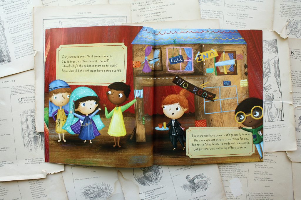 There's a Lion in my Nativity, by Lizzie Lafterton | Little Book, Big Story