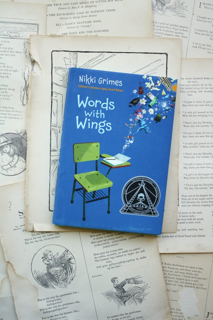 Words with Wings, by Nikki Grimes | Little Book, Big Story