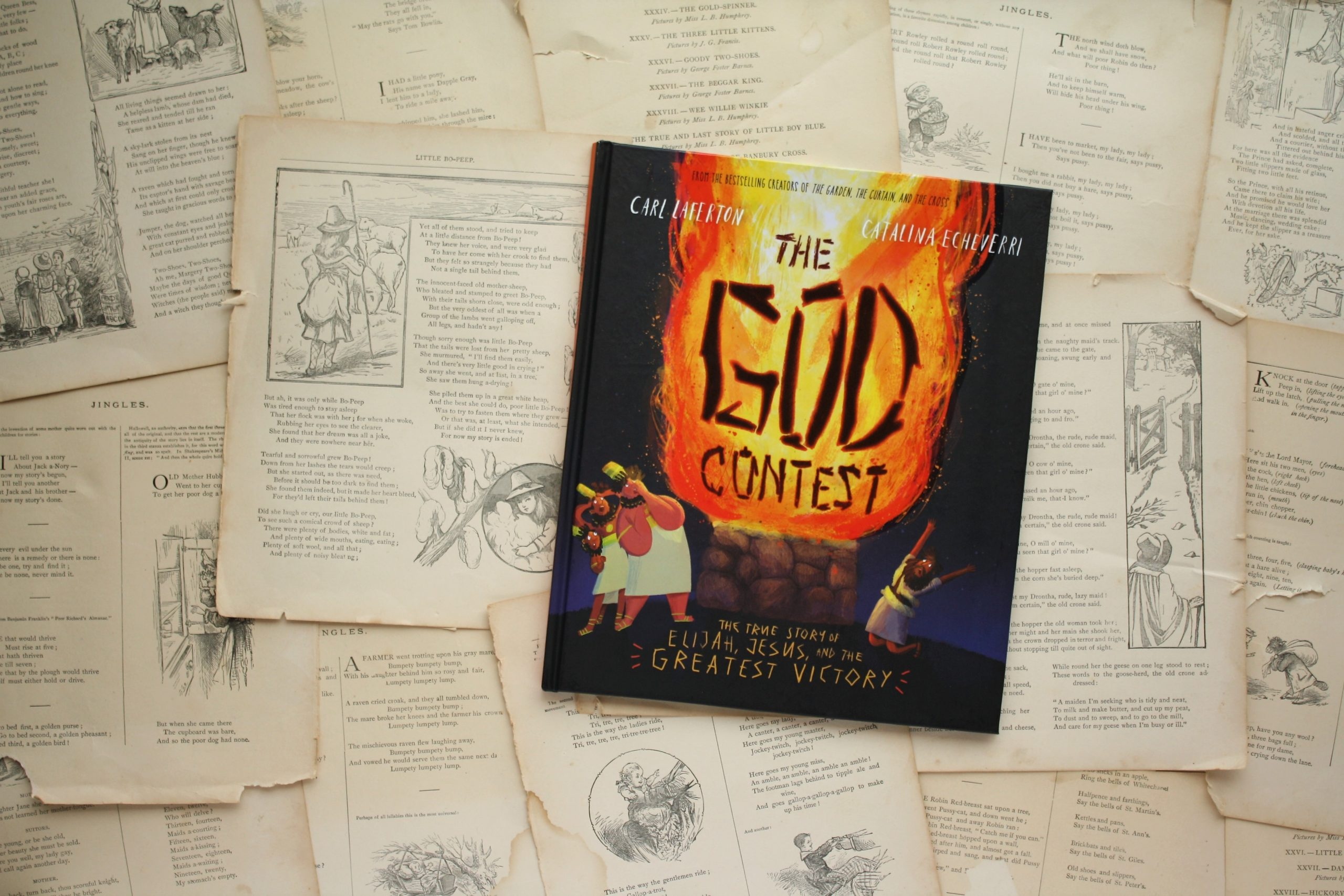 The God Contest | Carl Lafteron