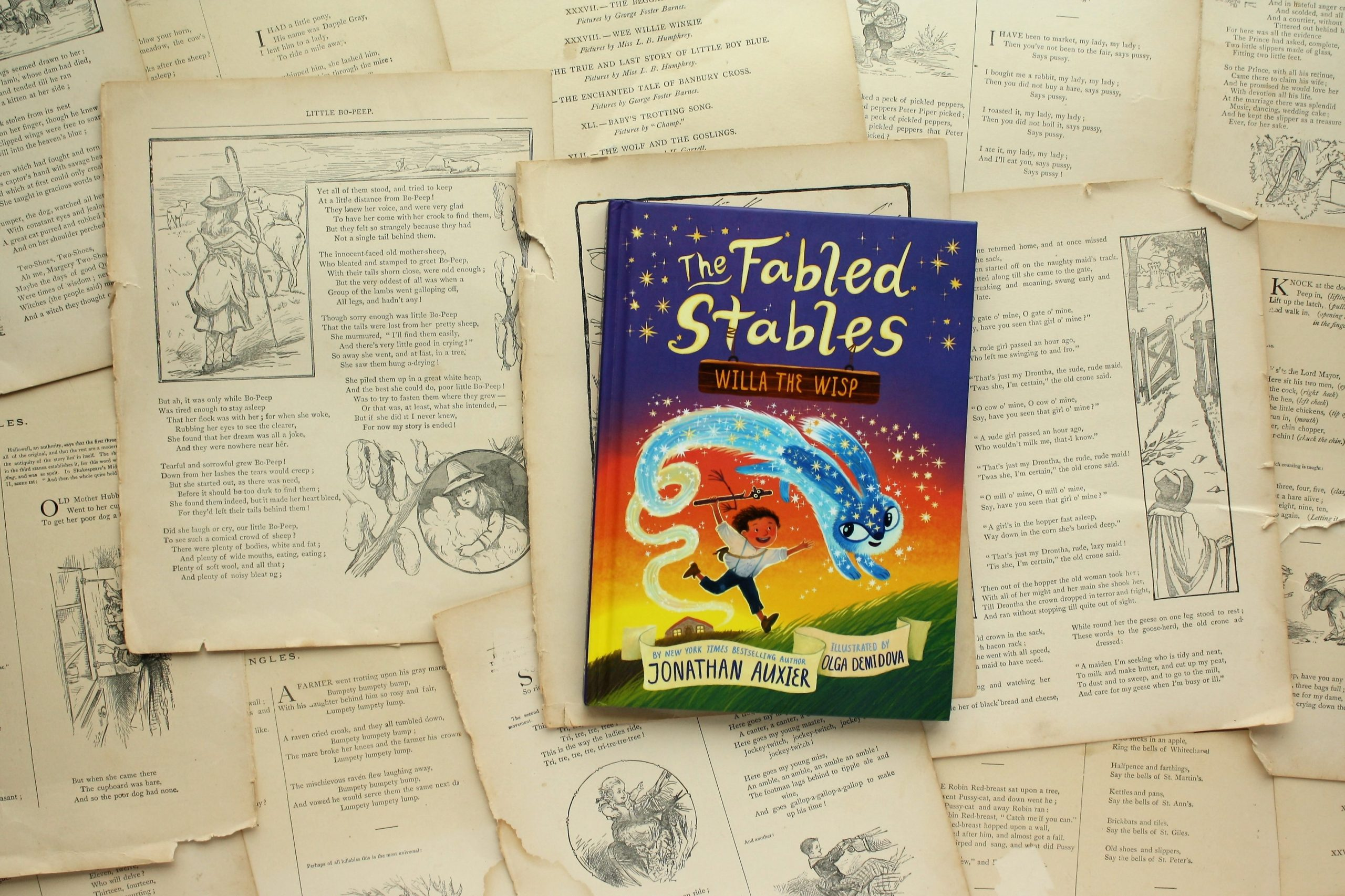 The Fabled Stables: Willa the Wisp | Jonathan Auxier