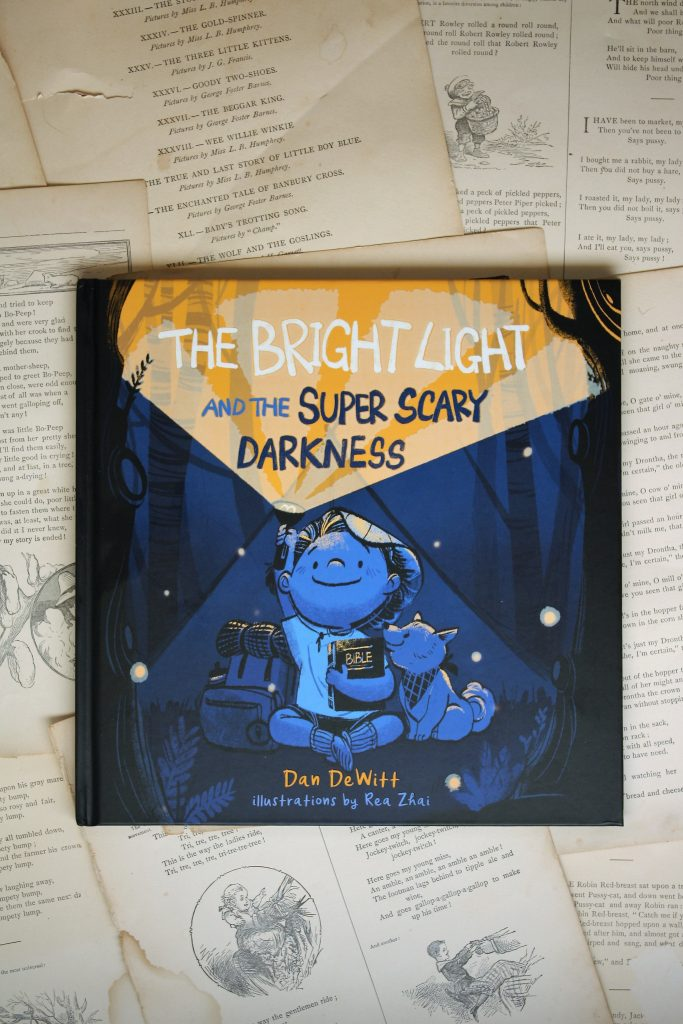 The Bright Light and the Super Scary Darkness, by Dan DeWitt | Little Book, Big Story