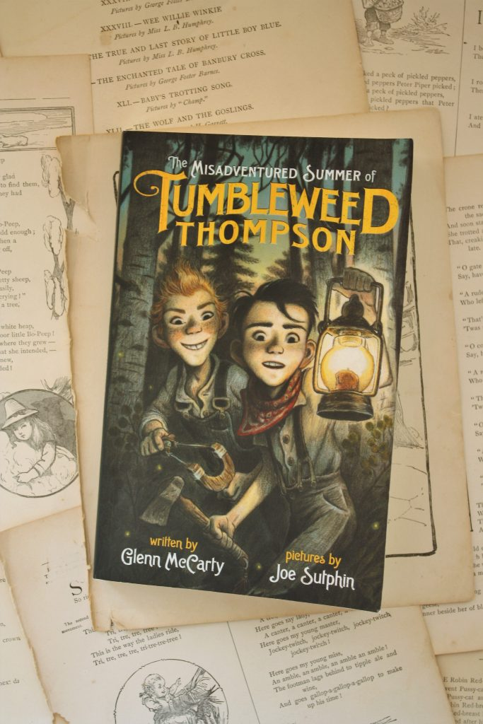The Misadventured Summer of Tumbleweed Thompson, by Glenn McCarty | Little Book, Big Story