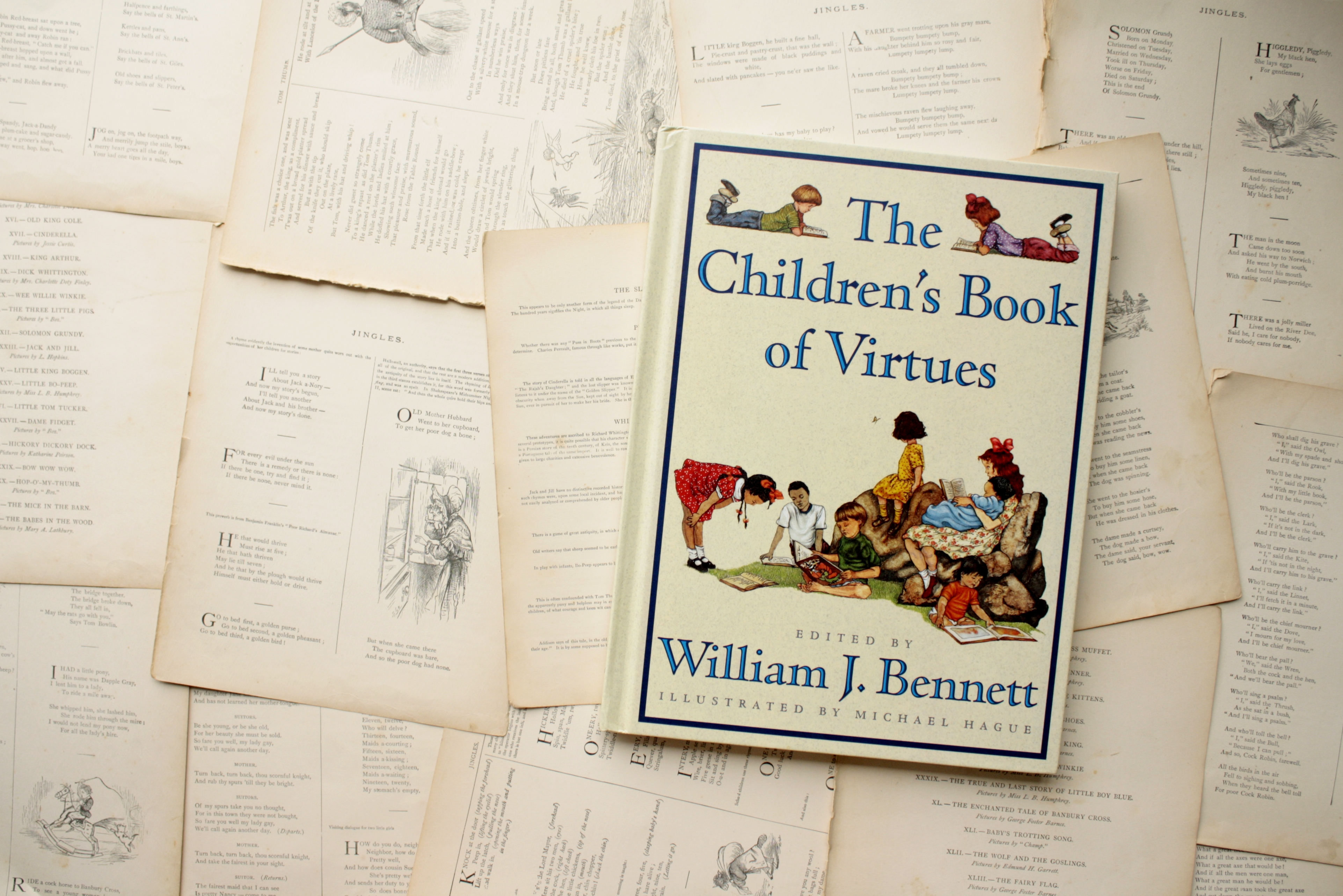 The Children's Book of Virtues | William J. Bennett