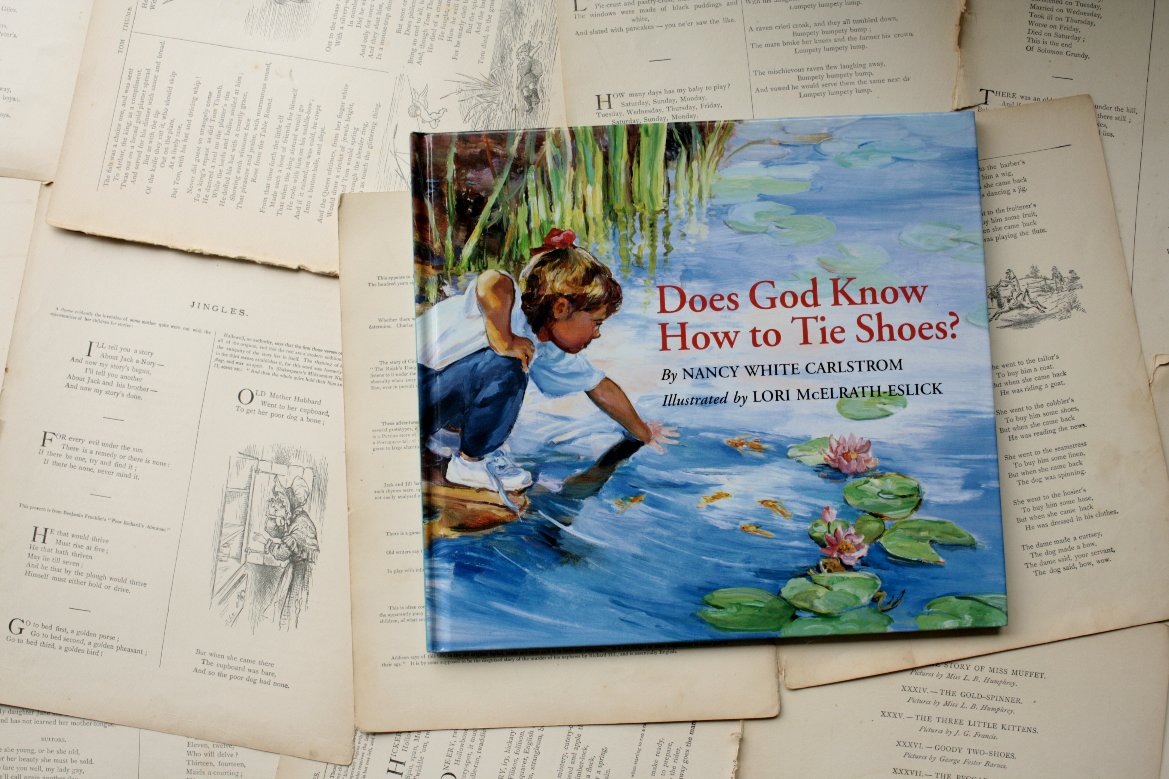 Does God Know How to Tie Shoes? | Nancy White Carlstrom