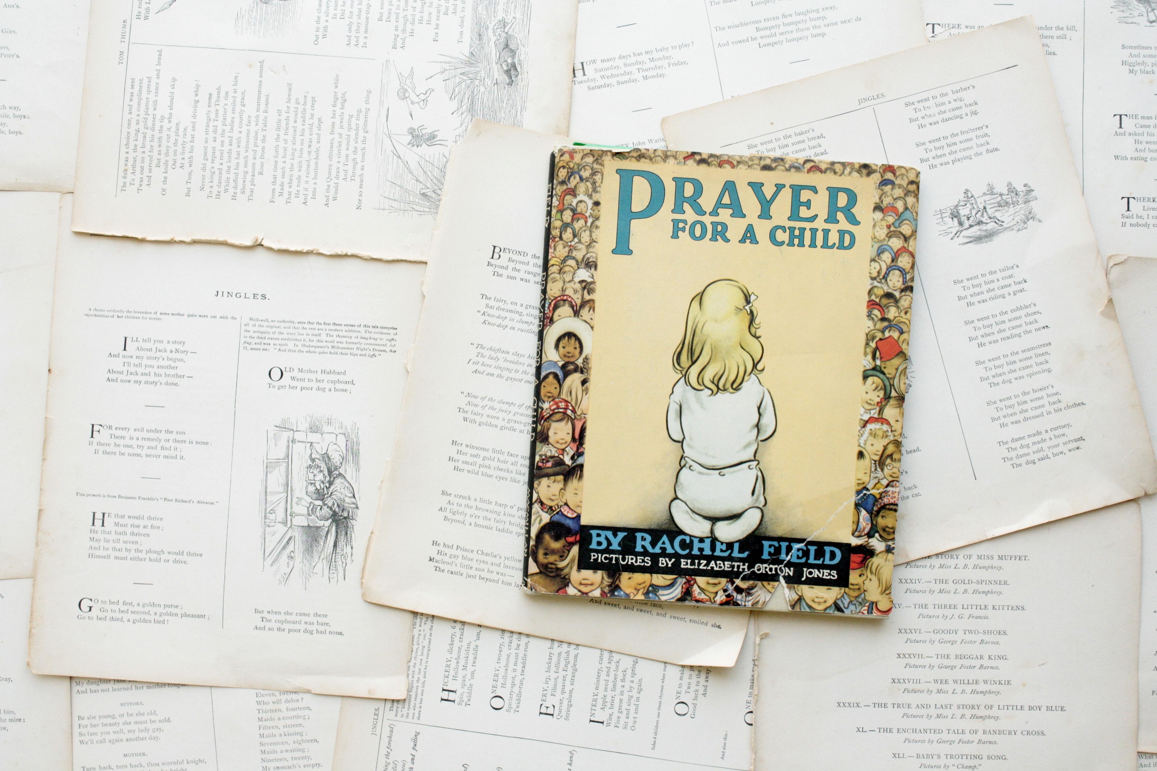 Prayer for a Child | Rachel Field