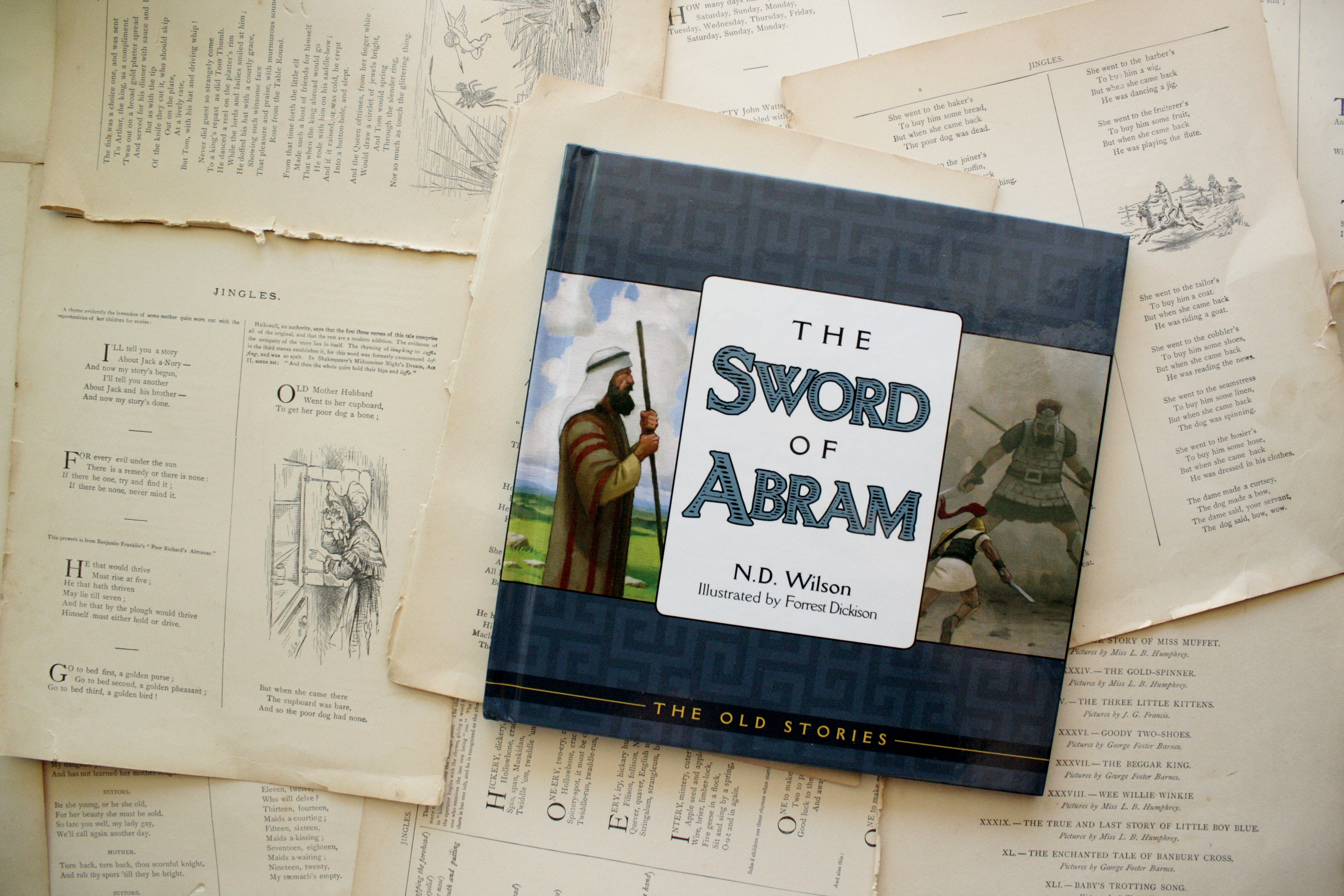 The Sword of Abram | N. D. Wilson