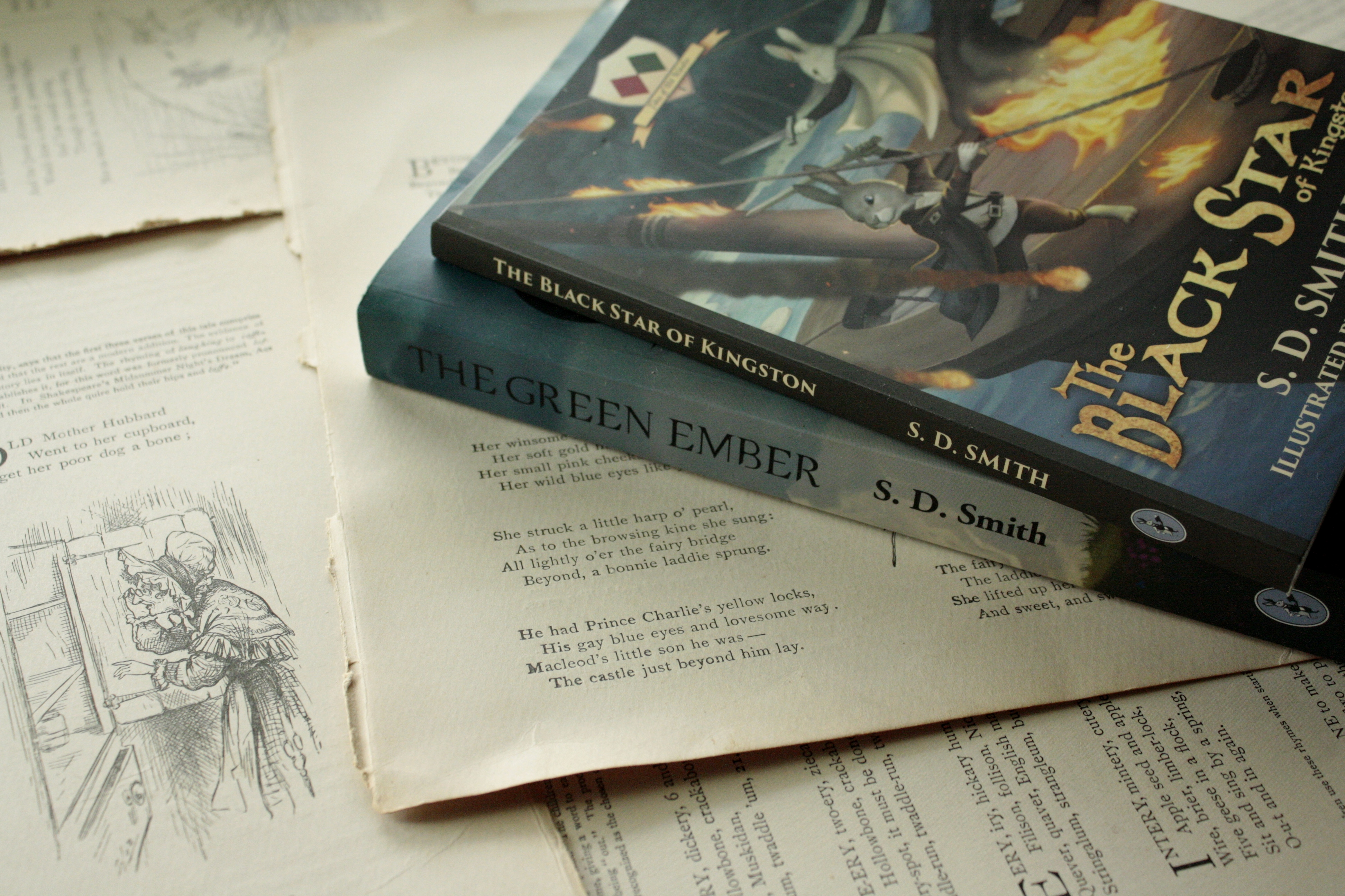 Ember Falls: A Sequel to the Green Ember!