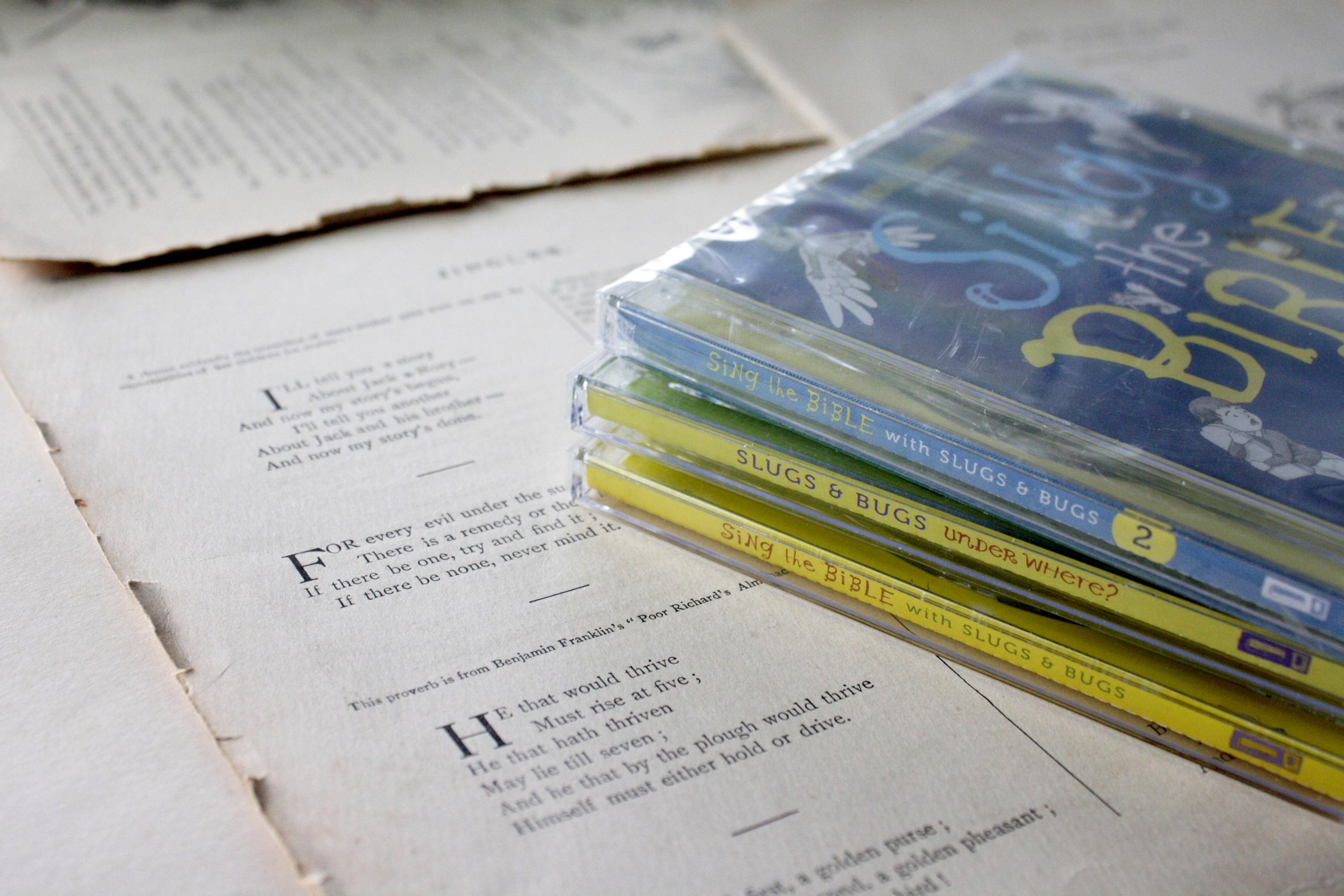 Slugs & Bugs, Sing the Bible | A Kickstarter Campaign