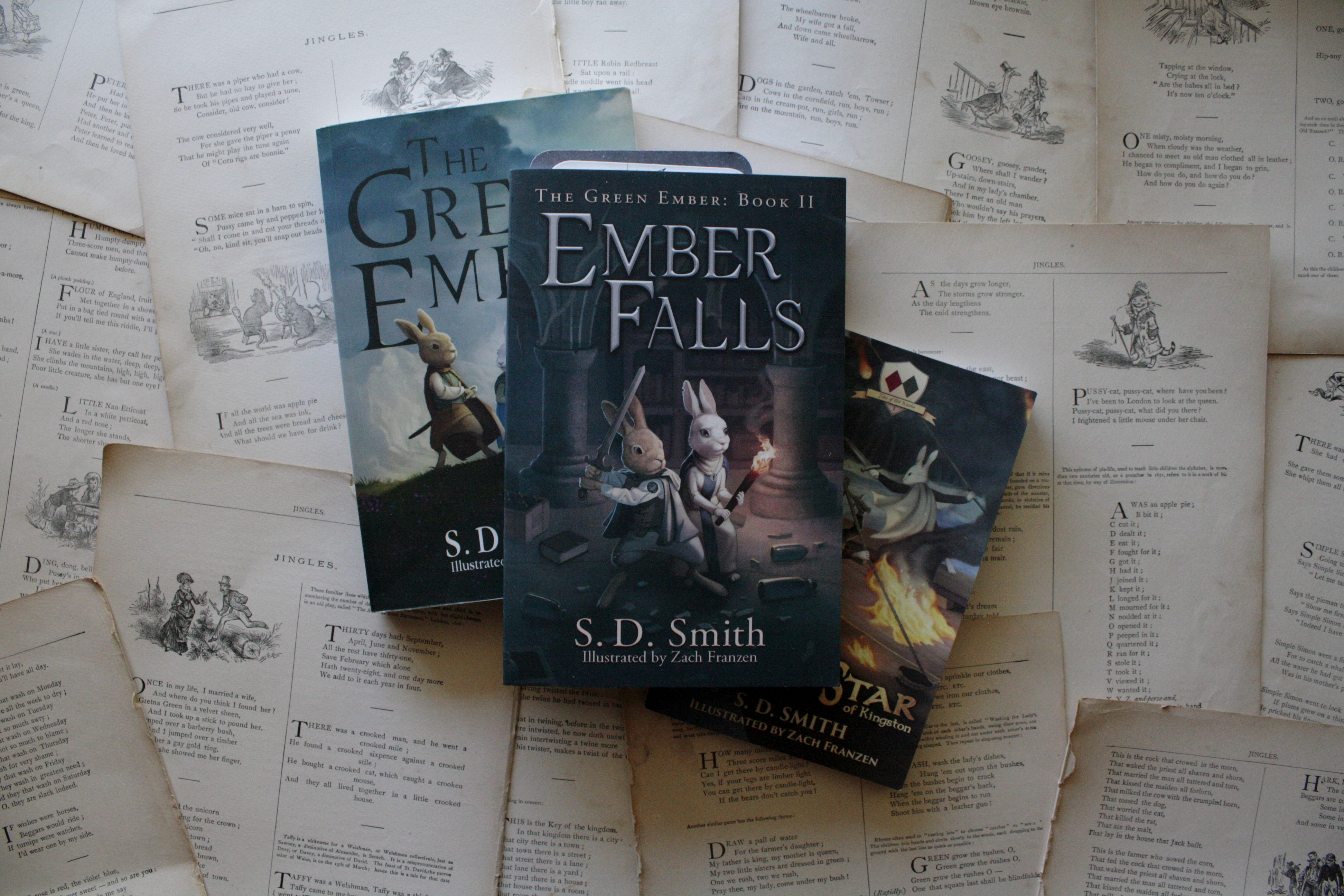 Ember Falls (Giveaway!) | S. D. Smith