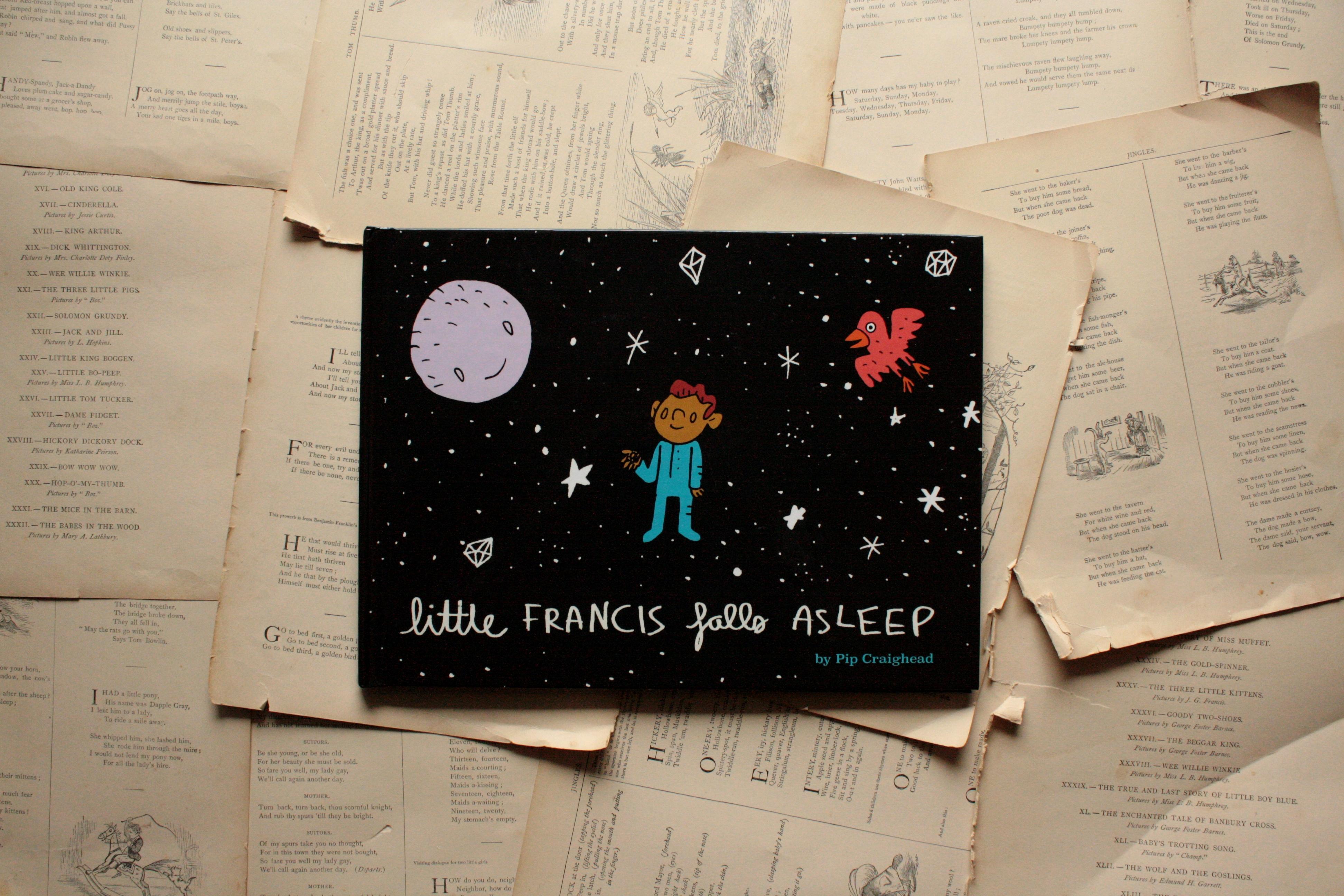 Little Francis Falls Asleep (Giveaway!) | Pip Craighead