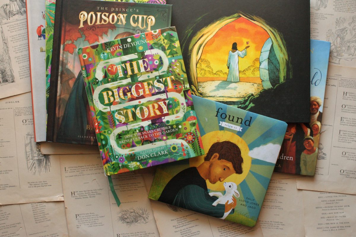 Tag Garden Curtain Cross 7 Books That Tell The Big Story Of Easter