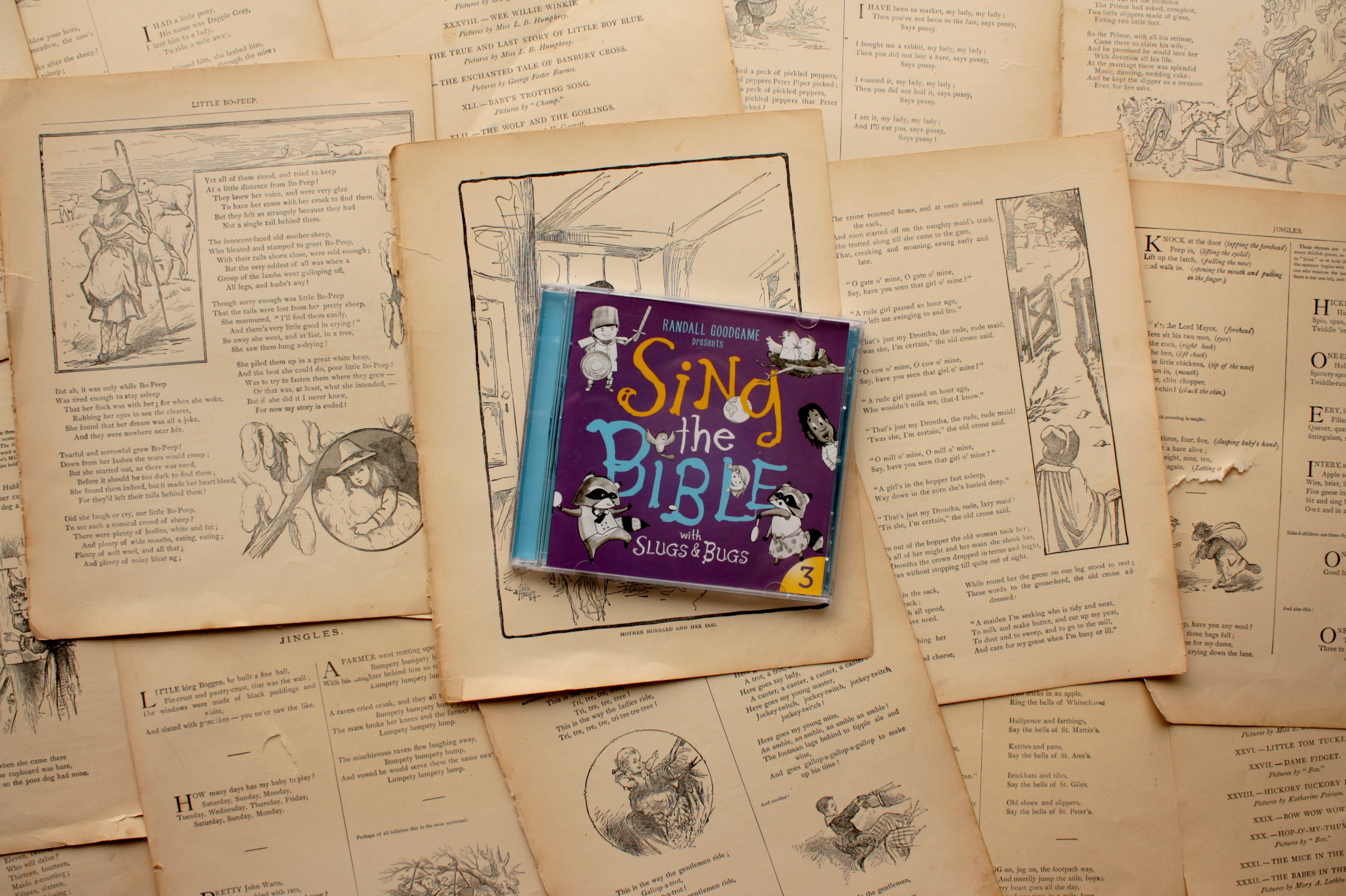 Slugs & Bugs | Sing the Bible, Vol. 3 (Giveaway!)