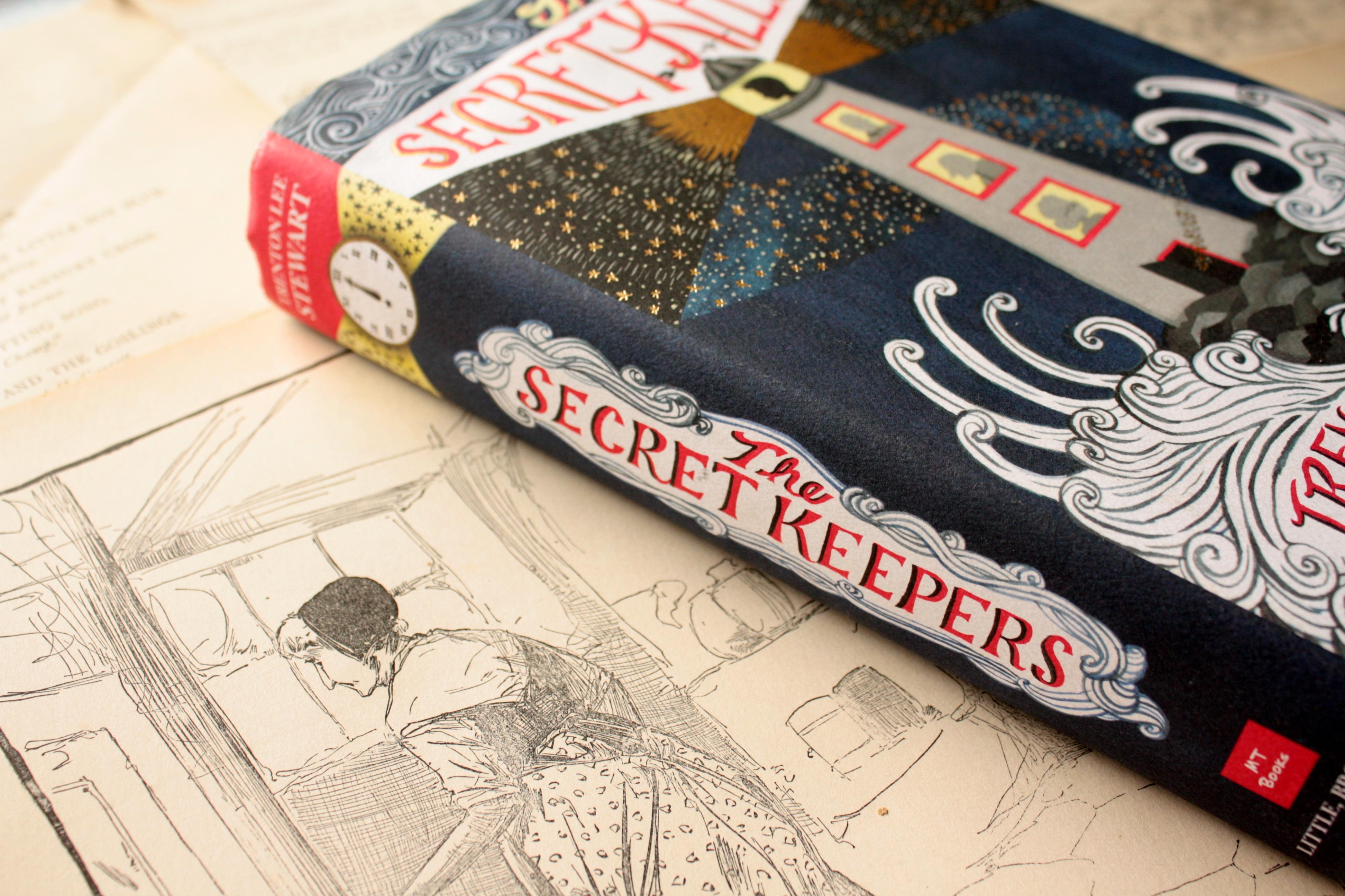 The Secret Keepers   Trenton Lee Stewart