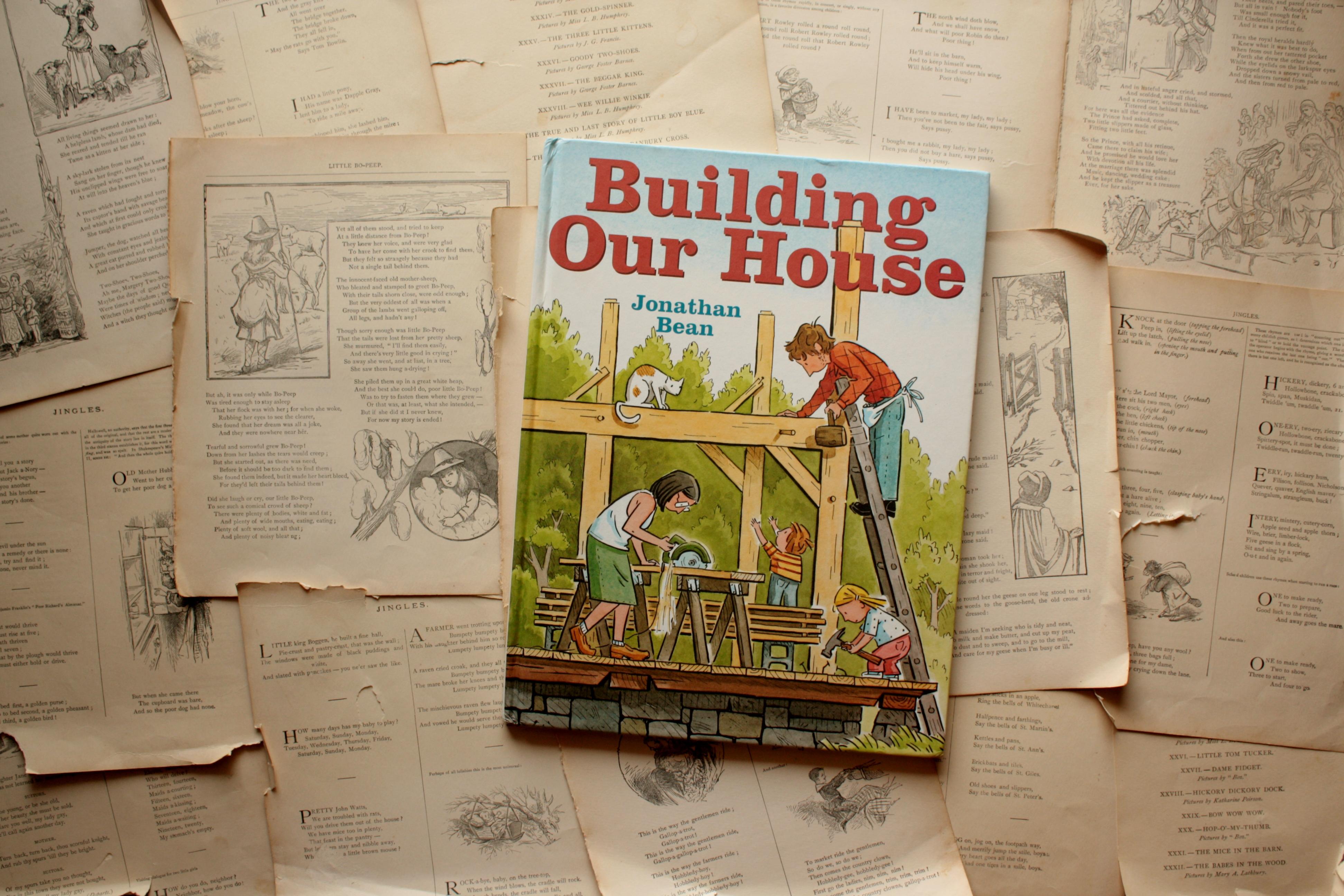 Building Our House   Jonathan Bean