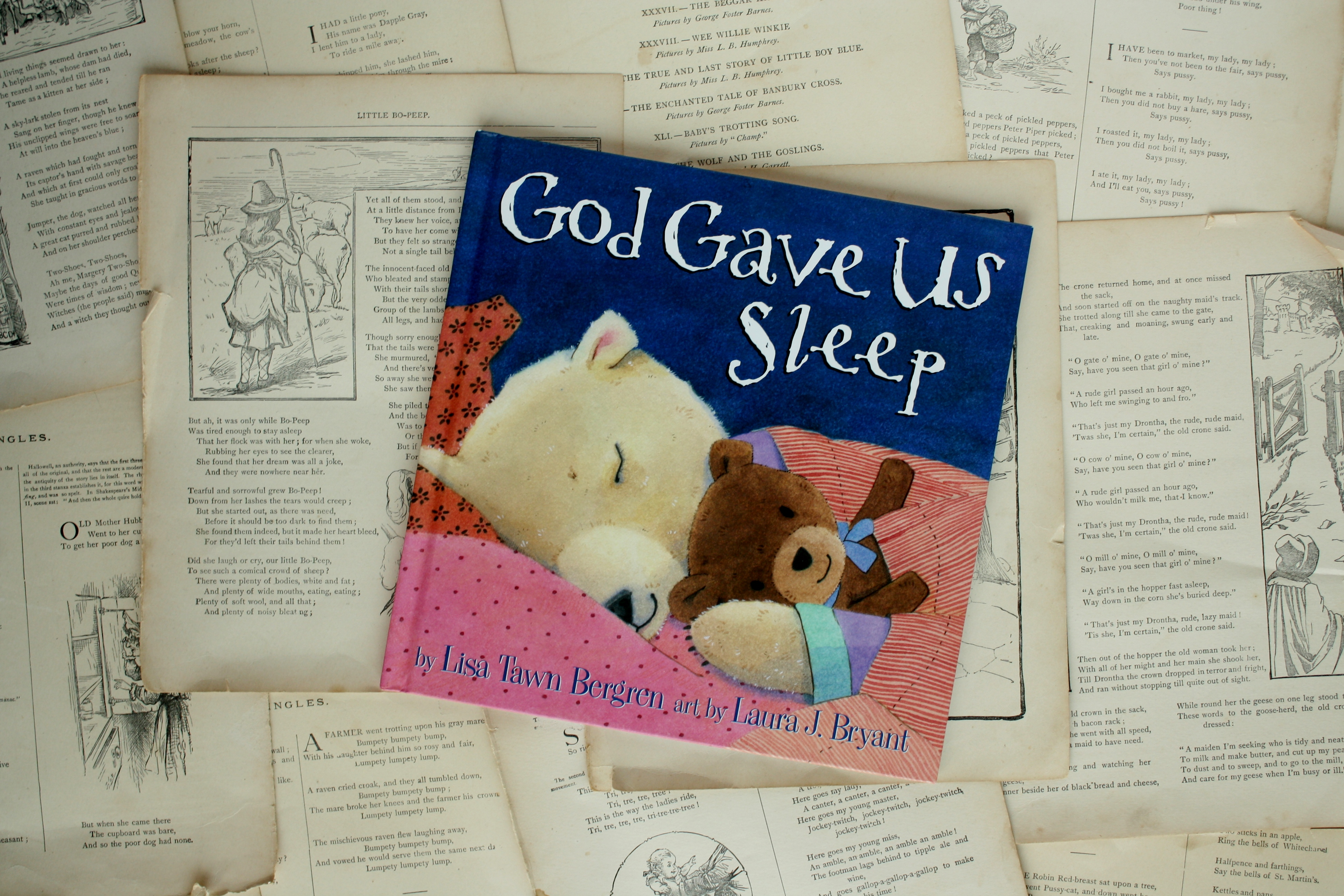 God Gave Us Sleep | Lisa Tawn Bergren