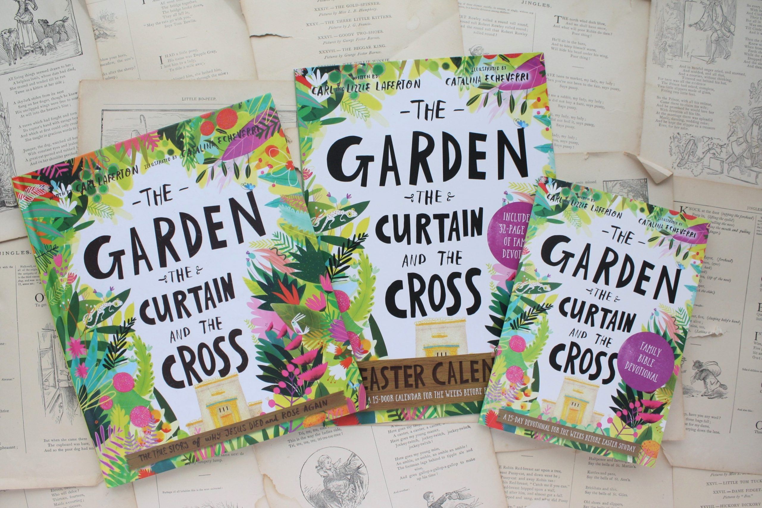 The Garden, The Curtain and the Cross Easter Calendar | Carl & Lizzie Laferton